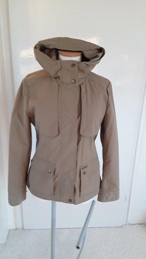 Woolrich Veste à capuche gris brun coton