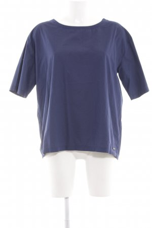 Woolrich Blouse à manches courtes bleu style décontracté