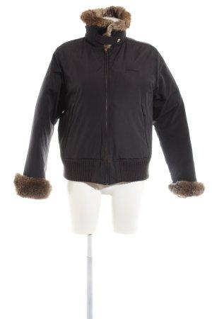 Woolrich Veste courte noir style décontracté