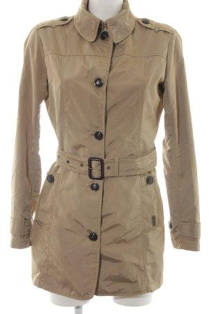 Woolrich Manteau court beige style classique