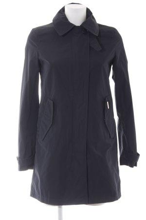 Woolrich Veste longue noir style simple