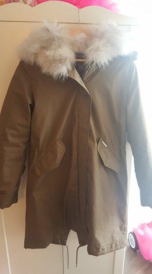WOOLRICH Literarische Fox Eskimo Womens Jacket Gr L.
