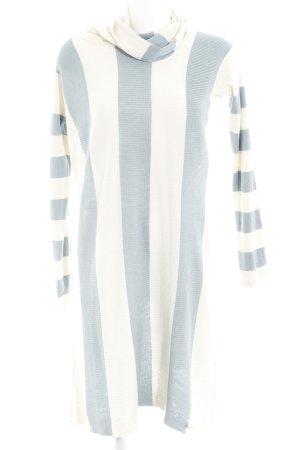 Woolrich Jersey largo azul pálido-beige claro estampado a rayas look casual