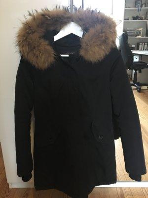 Attentif Manteau d'hiver noir