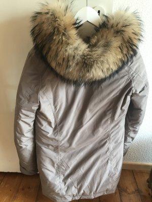 Woolrich Parka gris brun