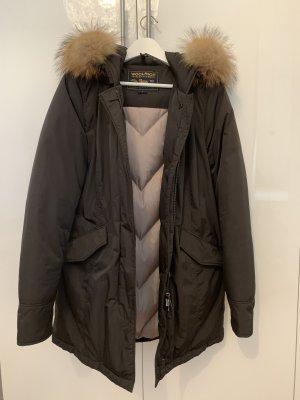 Woolrich Luxury Arctic Parka braun große L wie neu