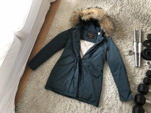 Woolrich Luxury Arctic Parka Fell Pelz Luxus Daunen Winterjacke Mantel