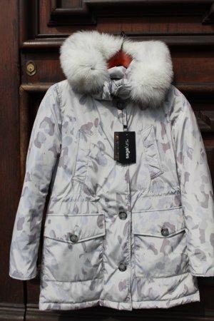 Woolrich Chaqueta color plata-gris claro