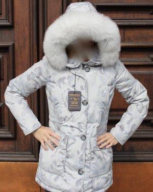 Woolrich Parka argento-grigio chiaro