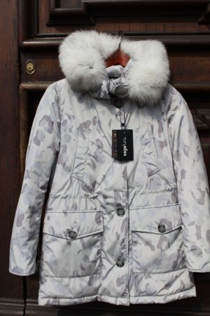 Woolrich Doudoune argenté-gris clair