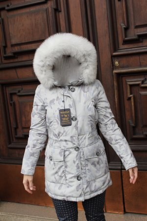 Woolrich Piumino argento-grigio chiaro