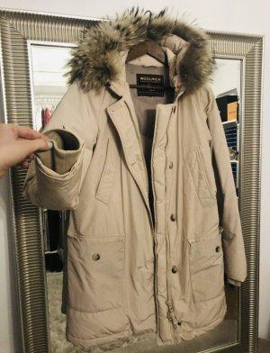 Woolrich Manteau en duvet blanc cassé coton