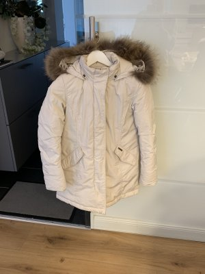 Woolrich Down Coat cream