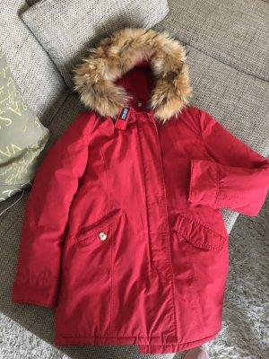 Woolrich Mantel / Jacke M/L Rot