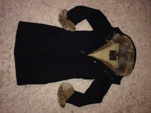 Woolrich Mantel mit Echtfell