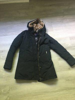 Woolrich Mantel, Parka, schwarz
