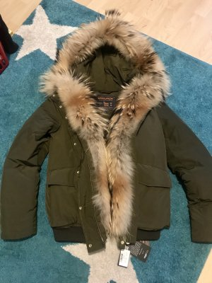 Woolrich Winter Jacket olive green