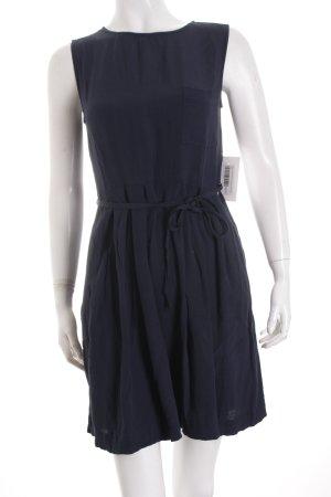 Woolrich Mini-jurk donkerblauw simpele stijl