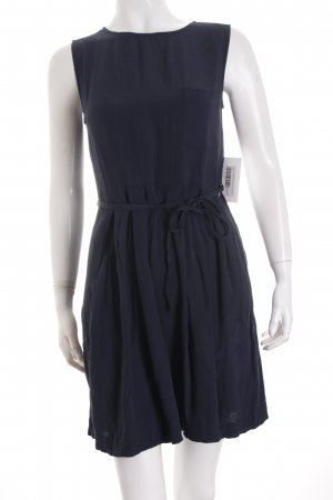 Woolrich Mini Dress dark blue simple style
