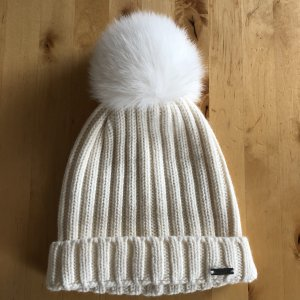 Woolrich Knitted Hat natural white-white wool