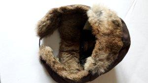 Woolrich Mütze mit Fell