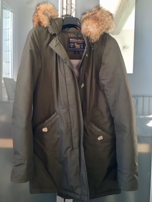 Woolrich Olive XS top Zustand