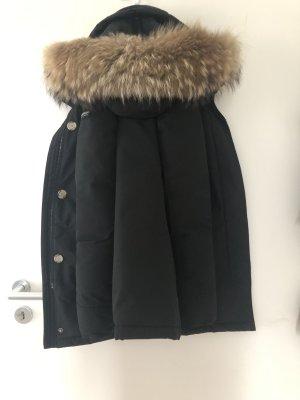 Woolrich Chaqueta de plumón negro-azul oscuro