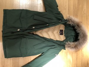 Woolrich Cappotto invernale verde bosco