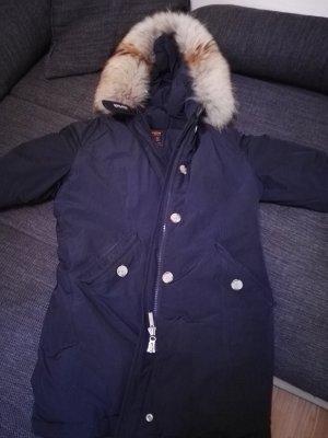 Woolrich Pelt Coat dark blue fur