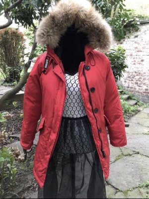 Woolrich Parka red