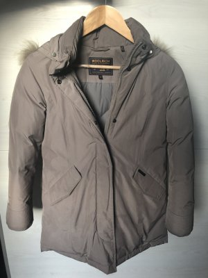 Woolrich Winterjas grijs-bruin