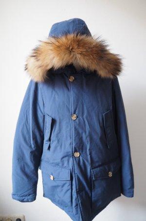 Woolrich Parka Blau kaum getragen