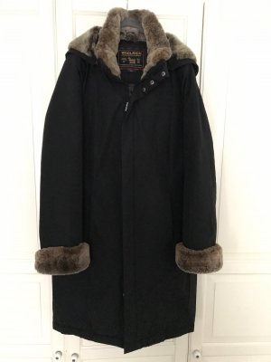 Woolrich Manteau en duvet brun noir