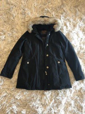Woolrich Manteau en duvet noir coton