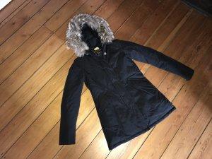Woolrich Parka Damen Arctic Fell Pelz Daunen Winterjacke Luxus Top Mantel