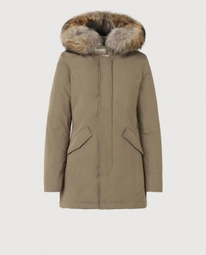 Woolrich Parka multicolored fur