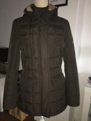 Woolrich Parka Gr. S 34 36 braun Mantel Jacke Blizzard Jacket