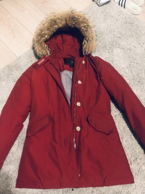 Woolrich Parka rouge