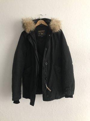 Woolrich Veste en fourrure noir pelage