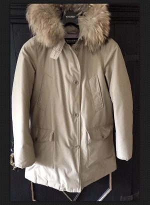 Woolrich Giacca invernale color cammello-crema