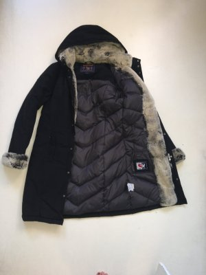 Woolrich Parka mit Hasenfell