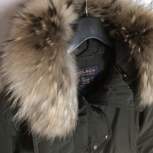 Woolrich Giacca invernale verde scuro-oro