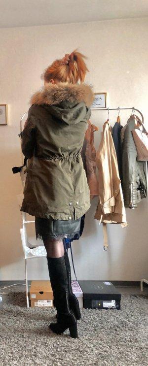 Woolrich Abrigo de piel multicolor