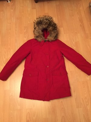 Woolrich Down Coat red