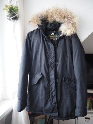 Woolrich Parka noir pelage