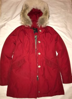 Woolrich Parka S Rot
