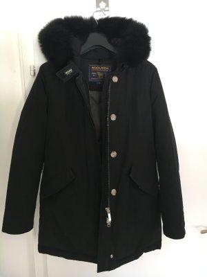 Woolrich Parka schwarz mit abnehmbarem Pelz