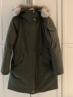 Woolrich Giacca lunga cachi