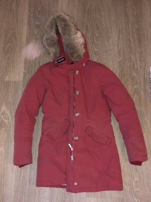 Woolrich Down Coat salmon-bright red