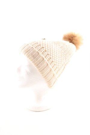 Woolrich Bonnet à pompon torsades style décontracté